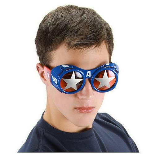 Captain America Goggle Glasses