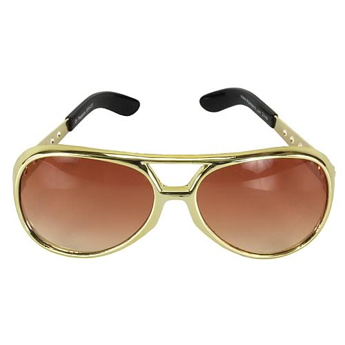 Elvis Presley Basic Gold Sunglasses
