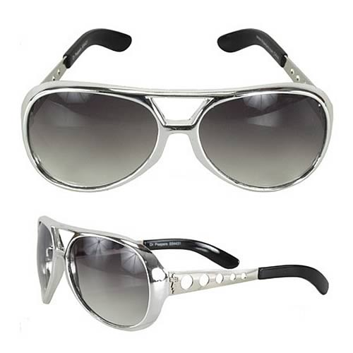 Elvis Presley Basic Silver Sunglasses