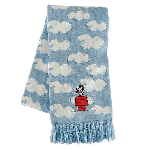 Peanuts Snoopy Flying Ace Scarf