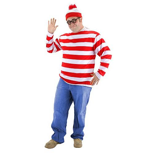 Where's Waldo XX-Large Adult Costume Kit