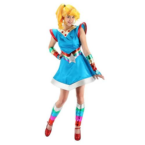 Rainbow Brite Deluxe Adult Costume