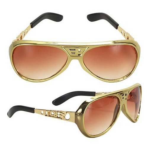 Elvis Presley Classic Gold Sunglasses