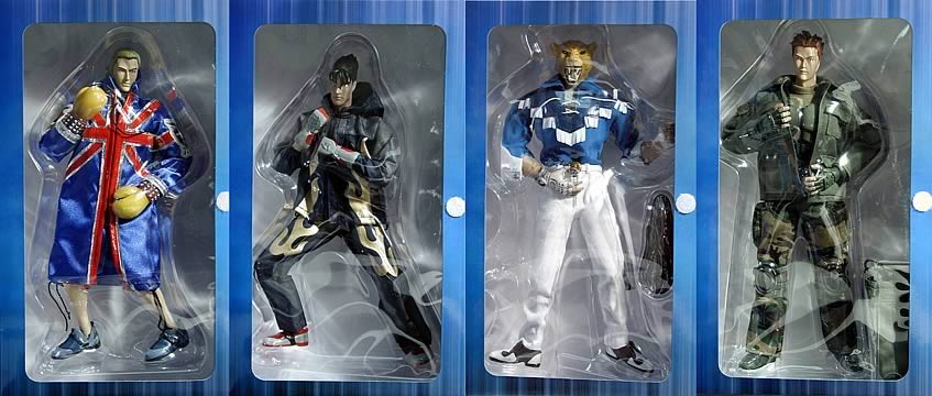 12in. Tekken 4 Figure Set #1