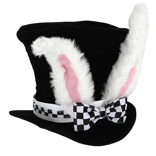 Alice In Wonderland White Rabbit Child Hat