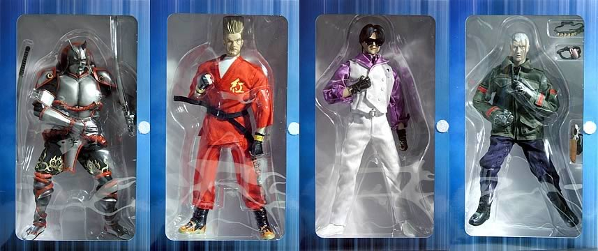 12in. Tekken 4 Figure Set #2