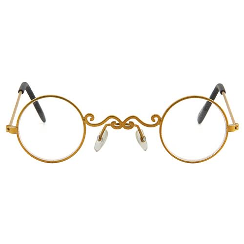 Steampunk Gold/Clear Pot O' Gold Glasses