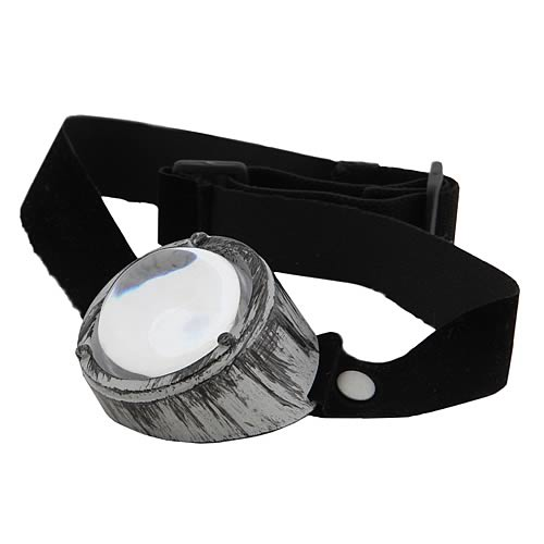 Steampunk Monovision Silver/Black Eye Patch