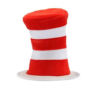 Dr. Seuss Cat in the Hat Deluxe Adult Hat