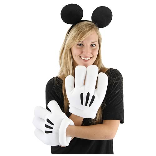 Disney Mickey Mouse Ears and Gloves Set
