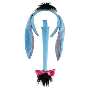 Winnie the Pooh Eeyore Ears and Tail Set
