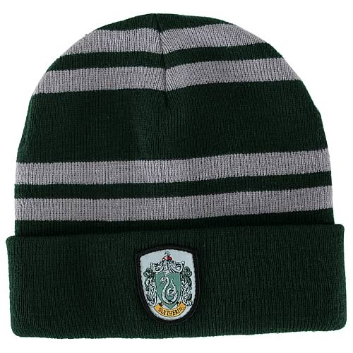 Harry Potter Slytherin House Beanie Hat