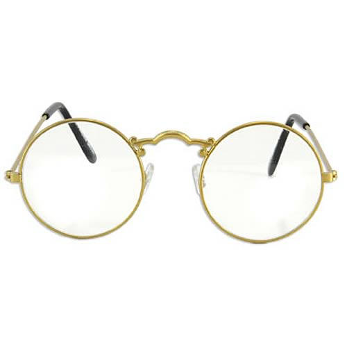 Old Glasses Frames New Lenses : Steampunk Gold Old Fashioned Glasses - Elope - Steampunk ...