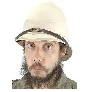 Steampunk British Pith Helmet