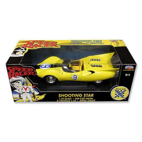 Speed Racer Movie Shooting Star 1:18 Scale Die-Cast Vehicle