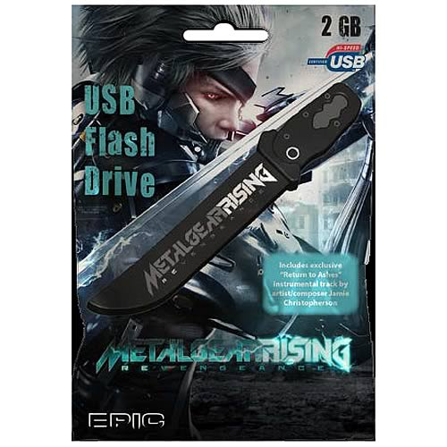 Metal Gear Rising Raiden's Sword 2 GB USB Flash Drive