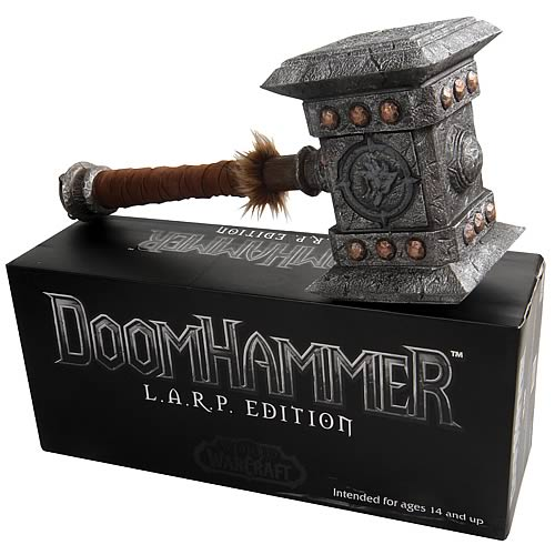 World of Warcraft Doomhammer L.A.R.P. Edition