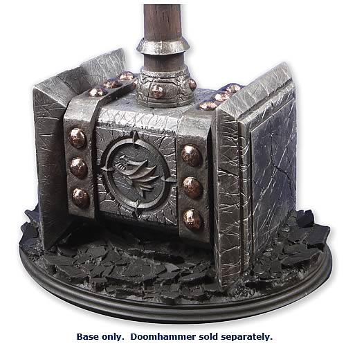 World of Warcraft Doomhammer Prop Replica Base