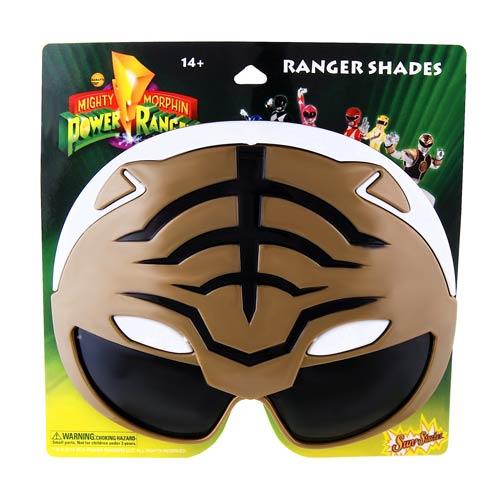 Power Rangers White Ranger Sun-Staches