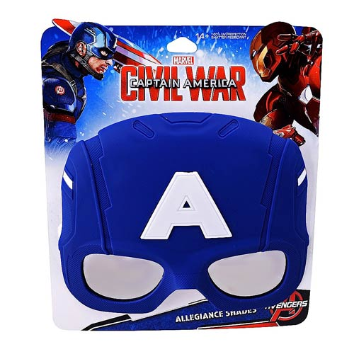 Captain America: Civil War Captain America Sun-Staches