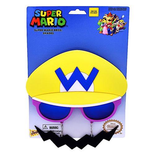 Super Mario Bros. Yellow Wario Sun-Staches