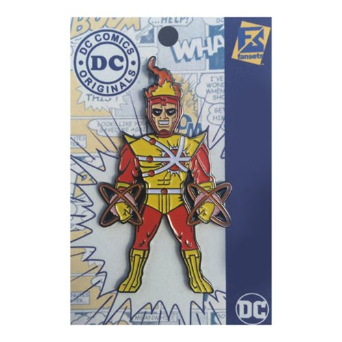 DC Comics Firestorm Pin