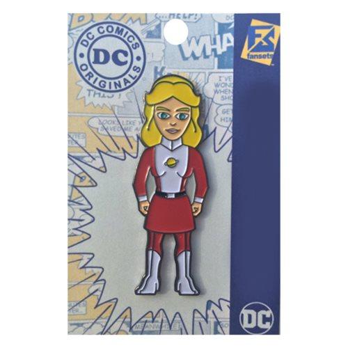 DC Comics Legion of Super Heroes Saturn Girl Pin