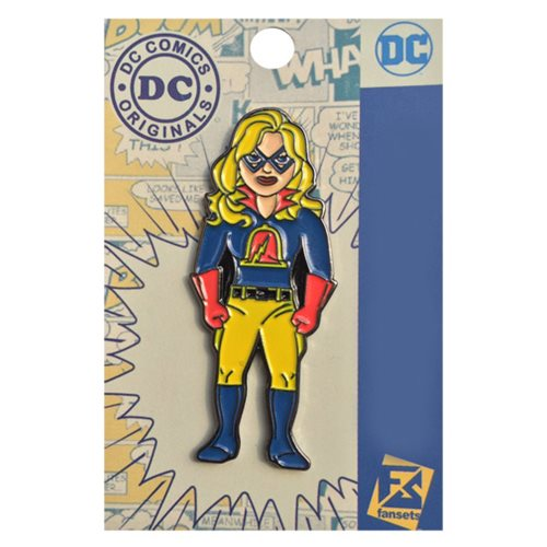 DC Comics Justice Society of America Liberty Belle Pin