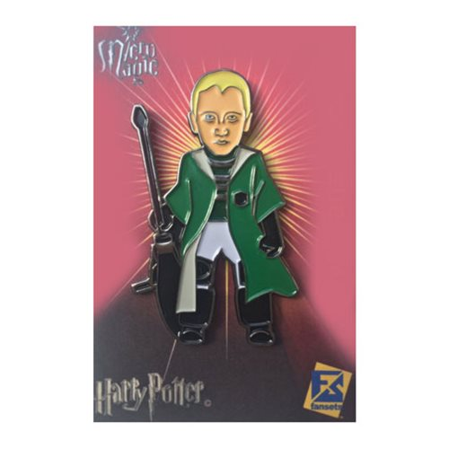 Harry Potter Draco Malfoy Quidditch Pin