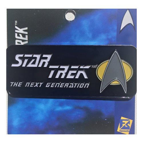 Star Trek Next Generation Logo Pin