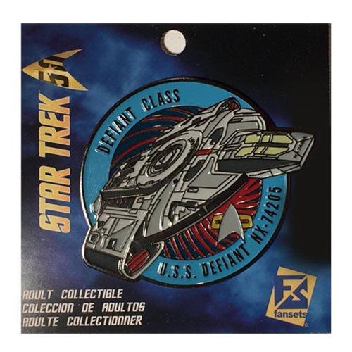 Star Trek Defiant NX-74205 Pin