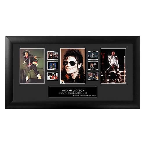 Michael Jackson Series 1 Triple Film Cell
