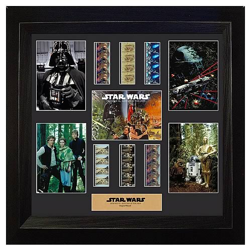 Star Wars Episode VI Special Edition Montage Film Cell