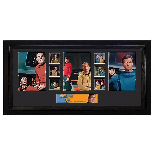 Star Trek Original Series Trio Film Cell