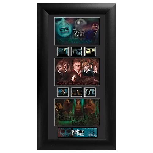 Harry Potter Order of the Phoenix Series 2 Trio Film Cell