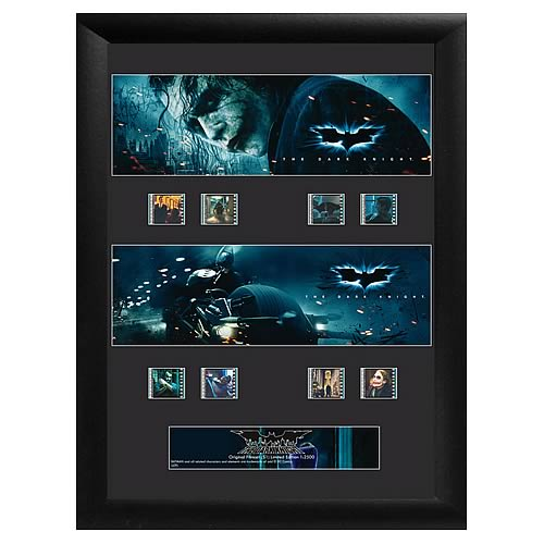 Batman Dark Knight Series 1 Upright Triple Film Cell