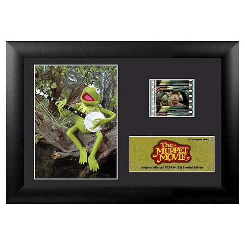 The Muppet Movie Series 3 Kermit the Frog Mini Film Cell