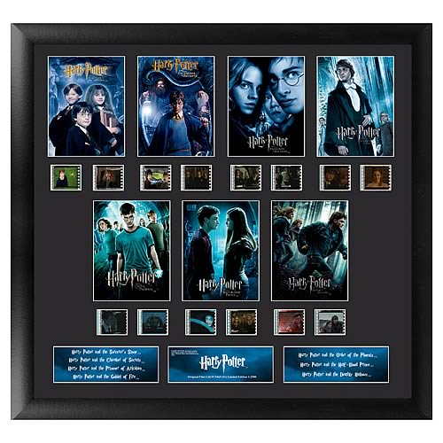 Harry Potter 7 Film Series 1 Mixed Montage Film Cell