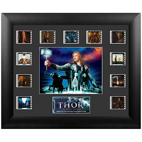 Thor Movie Series 1 Mini Montage Film Cell