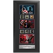 Captain America Movie Series 1 Upright Trio Film Cell