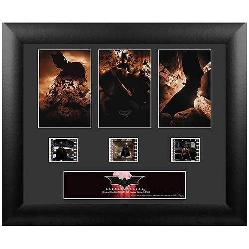 Batman Begins Series 2 Standard Triple Film Cell