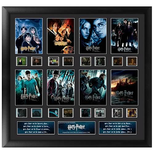Harry Potter Merchandise Harry Potter Finale Series 2 Mixed Montage Film Cell