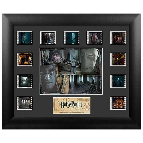 Harry Potter Merchandise Harry Potter Deathly Hallows Part 2 Mini Montage Film Cell