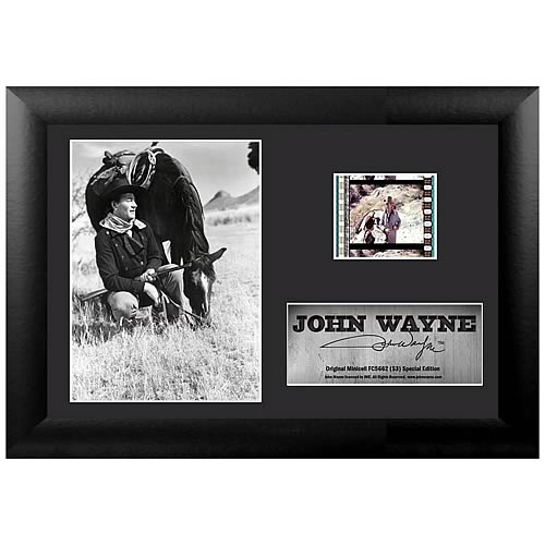 John Wayne Series 3 Special Edition Mini Film Cell
