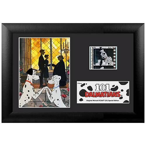 Disney 101 Dalmatians Series 1 Mini Film Cell