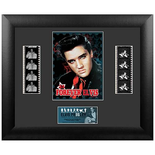 Elvis Presley 35th Anniversary Series 1 Double Film Cell