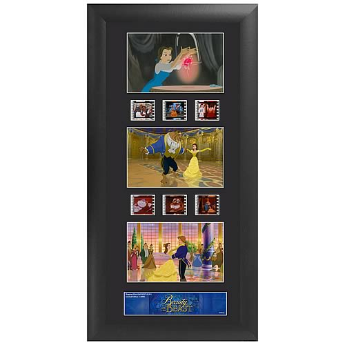 Disney Beauty and the Beast Series 1 Triple Film Cell
