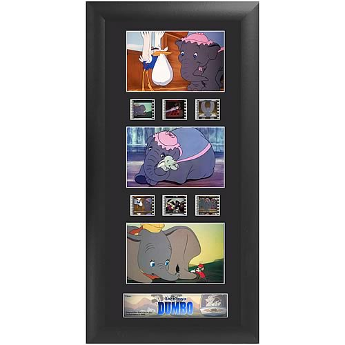 Disney Dumbo Series 1 Upright Triple Film Cell