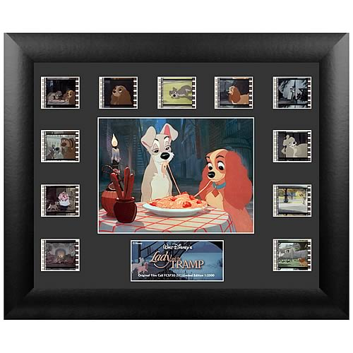 Lady and the Tramp Series 1 Mini Montage Film Cell