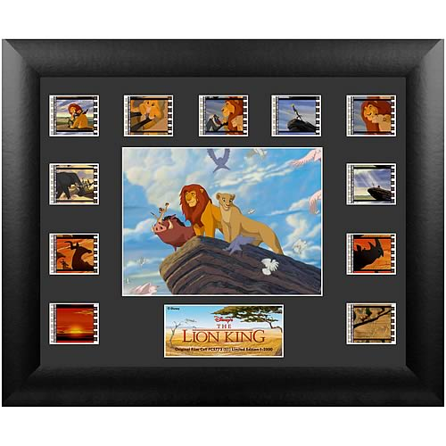 Lion King Series 1 Mini Montage Film Cell